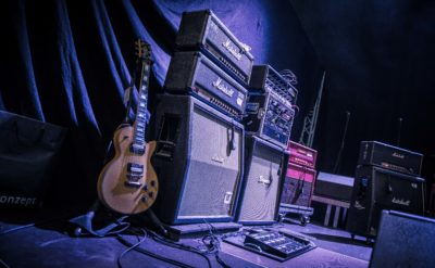 Night Of The Guitars Amp Stack